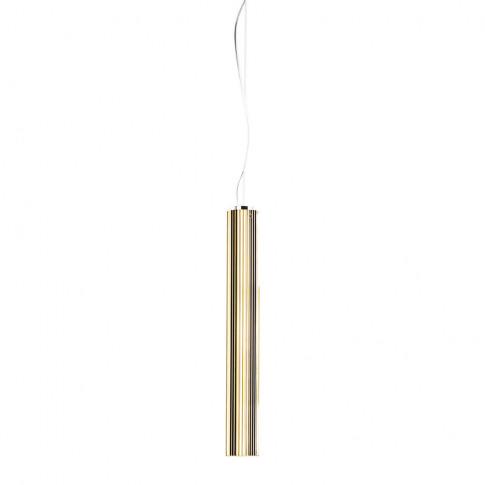 Kartell - Rifly Ceiling Lamp - Gold - 60cm