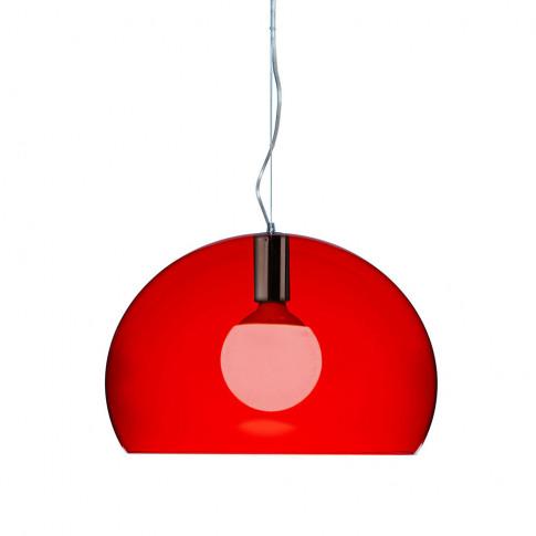 Kartell - Mini FL/Y Ceiling Light - Red