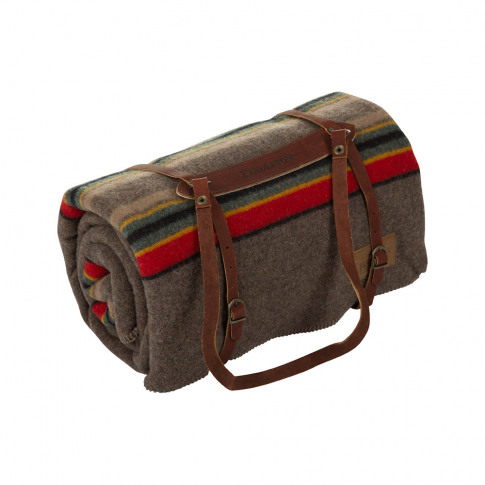 Pendleton - Twin Camp Blanket With Carrier - Mineral...