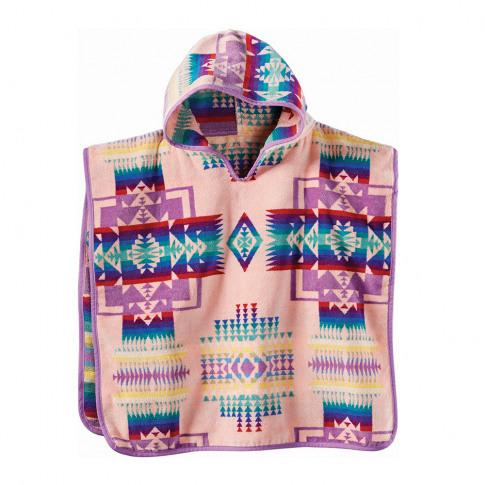 Pendleton - Chief Joseph Hooded Children's Towel - Pink