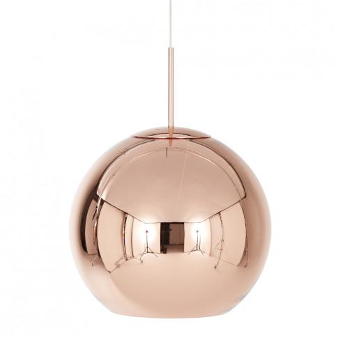 Tom Dixon - Copper Round Pendant Light - 45cm
