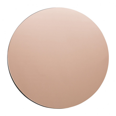 House Doctor - Wall Mirror - Round - Rose Gold