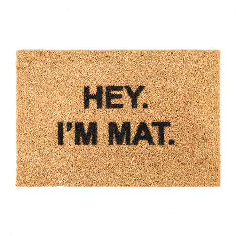 Artsy Doormats - I'M Mat Door Mat