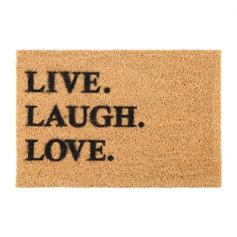 Artsy Doormats - Live Laugh Love Door Mat