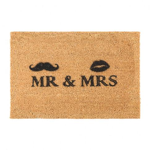Artsy Doormats - Mr & Mrs Door Mat