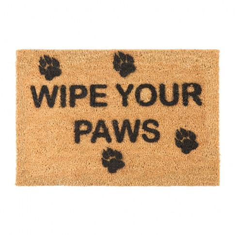 Artsy Doormats - Wipe Your Paws Door Mat