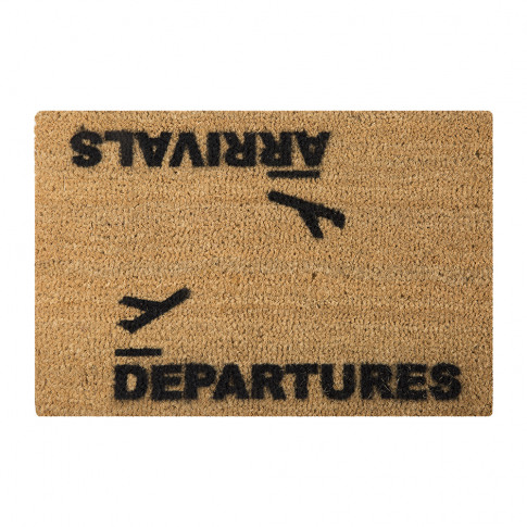 Artsy Doormats - Arrivals/Departures Door Mat