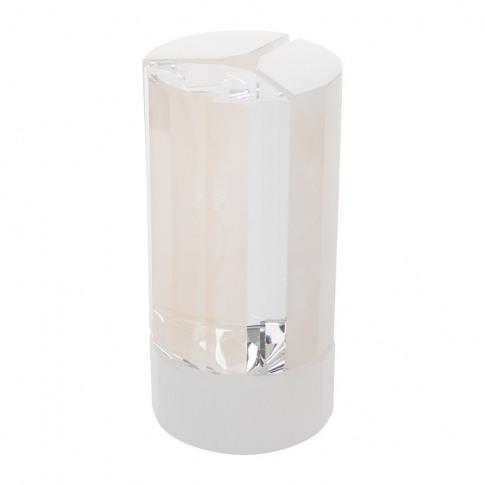 Atelier Swarovski - Crystal & Pink Onyx Vase - Small