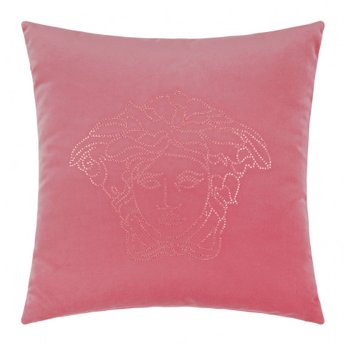Versace Home - Medusa Studs Cushion - 45x45cm - Pink