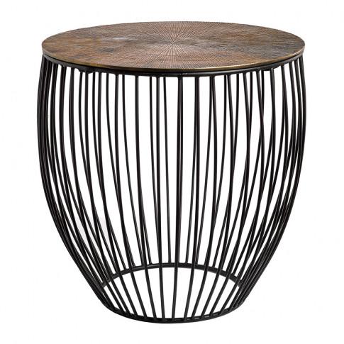 Pols Potten - Wire & Brass Side Table