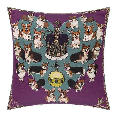 Silken Favours - Your Majesty Cushion - 45x45cm