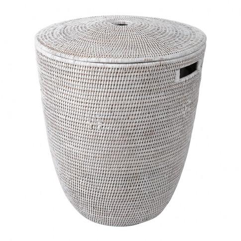 Baolgi - Laundry Basket - White