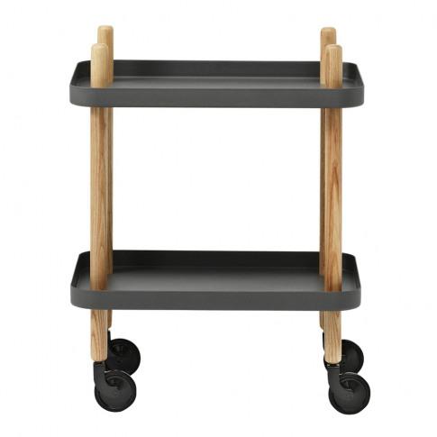 Normann Copenhagen - Block Table - Dark Grey