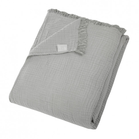 Hay - Crinkle Bedspread - Grey