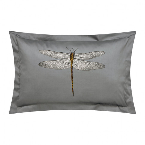 Harlequin - Demoiselle Graphite Oxford Pillowcase - Print