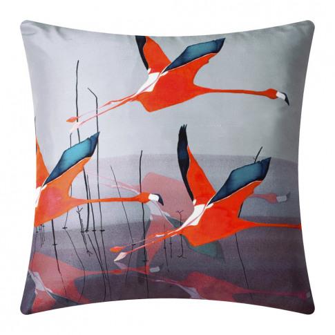 Anna Jacobs - Orange Breaking Dawn Silk Cushion - 45...