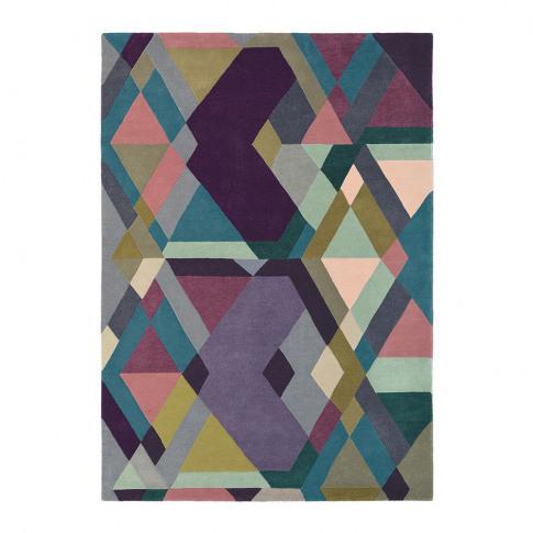 Ted Baker - Light Purple Mosaic Rug - 170x240cm