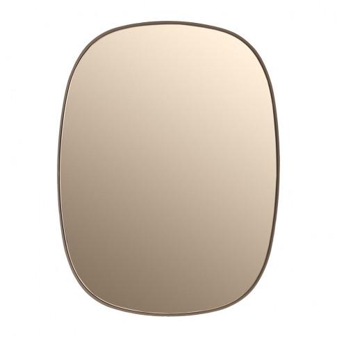 Muuto - Small Framed Mirror - Rose