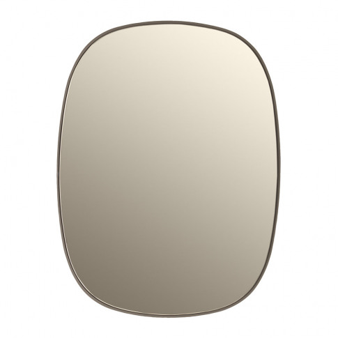 Muuto - Small Framed Mirror - Taupe