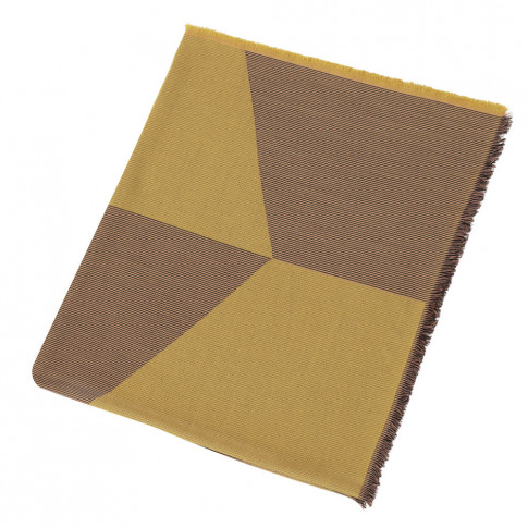 Muuto - Sway Throw - 180x130cm - Mustard