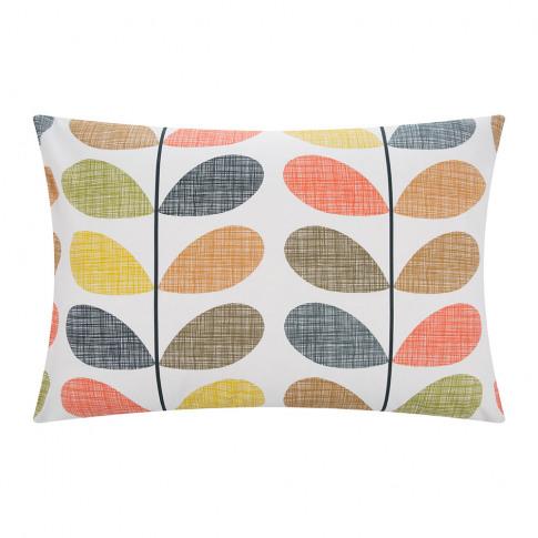 Orla Kiely - Scribble Stem Pillowcase - Multi - Set ...