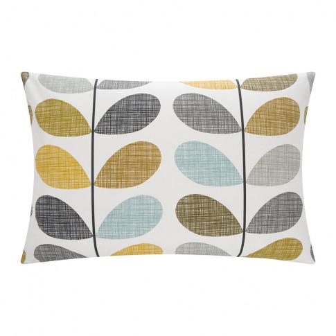 Orla Kiely - Scribble Stem Pillowcase - Seagrass - S...