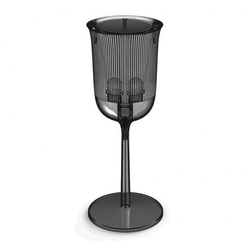 Qeeboo - Goblet Table Lamp - Smoke - Tall