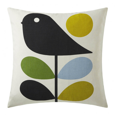 Orla Kiely - Early Bird Reversible Cushion - 45x45cm...