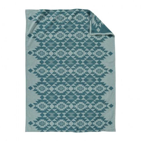 Pendleton - Yuma Star Jacquard Blanket - Sky