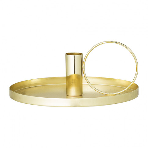 Bloomingville - Metal Candlestick - Gold