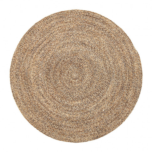 Bloomingville - Woven Round Rug - Natural