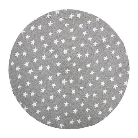 Bloomingville - Star Rug - Grey