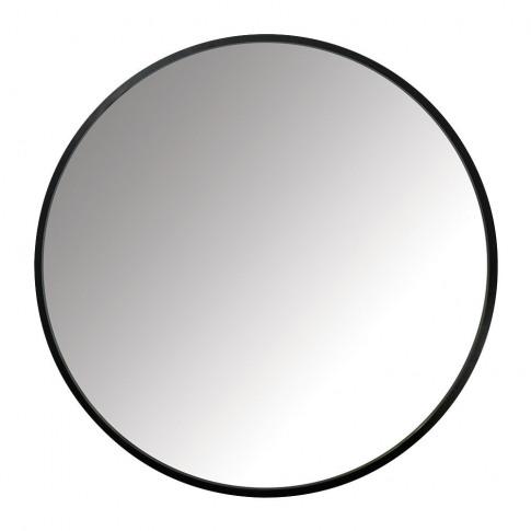 Umbra - Hub Round Mirror - 61cm - Black