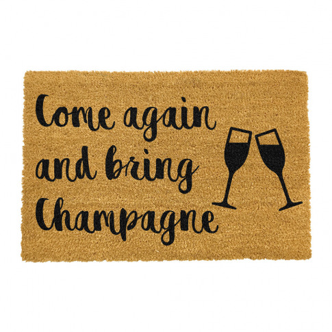 Artsy Doormats - Bring Champagne Door Mat