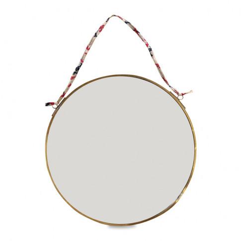 Nkuku - Kiko Round Mirror - Antique Brass - Small