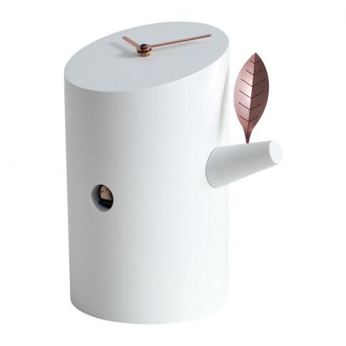 Progetti - Nido Desk Cuckoo Clock - White