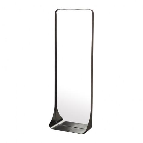 Pols Potten - Edge Mirror With Shelf - Medium