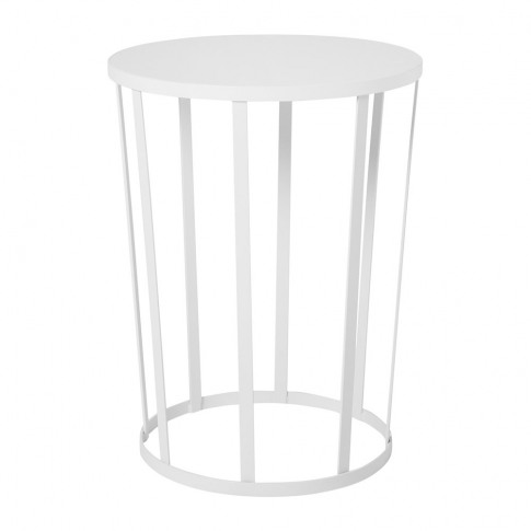 Petite Friture - Hollo Stool/Side Table - White