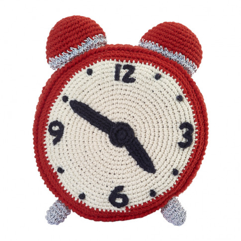 Anne-Claire Petit - Crochet Clock - Mandarin
