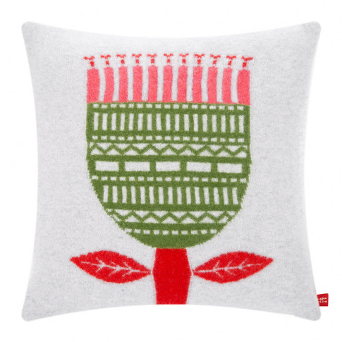Donna Wilson - Knitted Flower Cushion - Grey