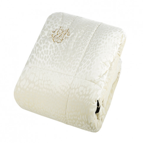 Roberto Cavalli - Sigillo Bedspread - 270x260cm - Ivory