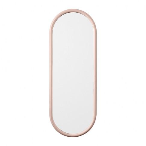 Aytm - Angui Oval Mirror - 29x78cm - Rose