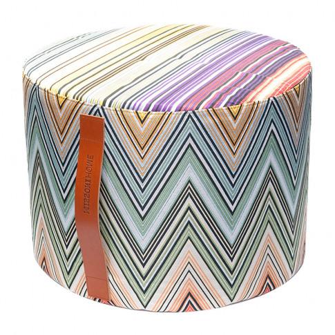 Missoni Home - Kew Cylindrical Pouf - T59 - 40x30cm