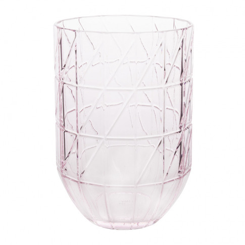 Hay - Glass Colour Vase - Large - Pink