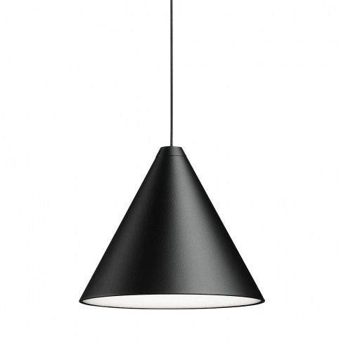 Flos - String Ceiling Light - Cone Head - Black