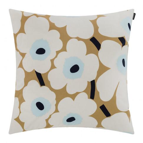Marimekko - Pieni Unikko Cushion Cover - 50x50cm - B...
