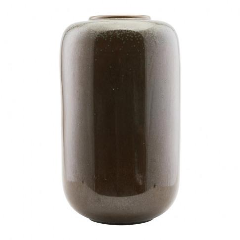 House Doctor - Jade Vase - Shellish Mud