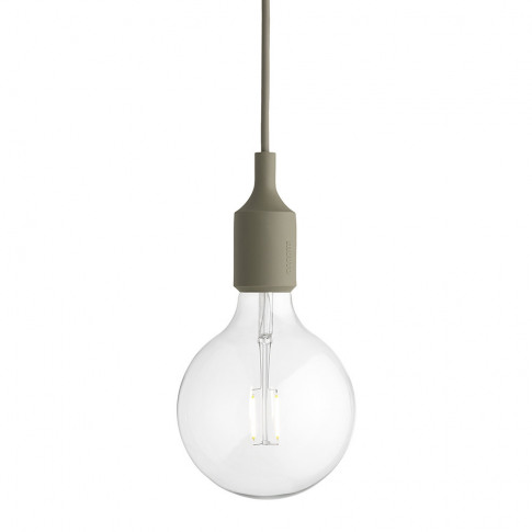 Muuto - E27 Pendant Lamp - Olive