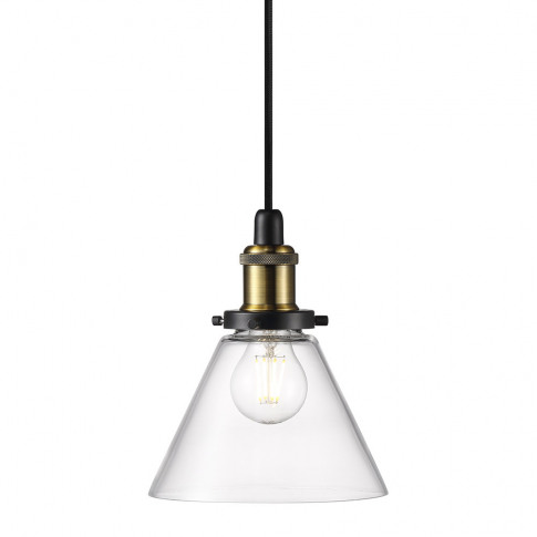 A By Amara - Disa E27 Pendant Light - Clear