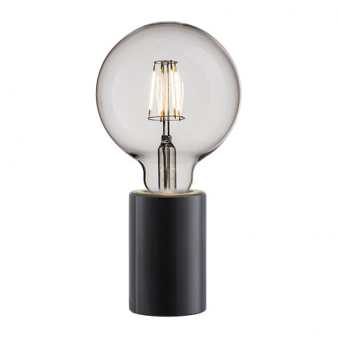 A By Amara - Siv E27 Table Lamp - Small - Black